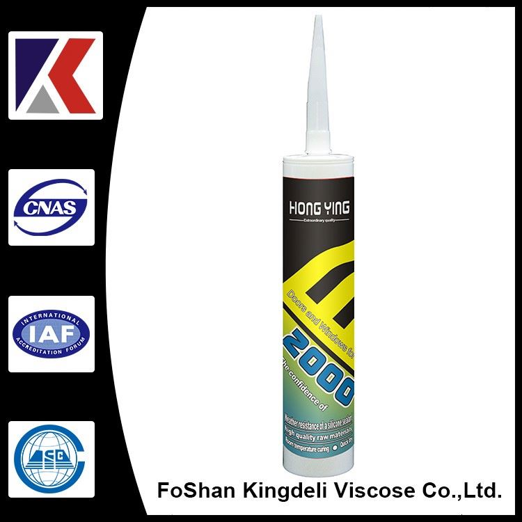 Filling joint of indoor and outdoor decoration silicone sealant