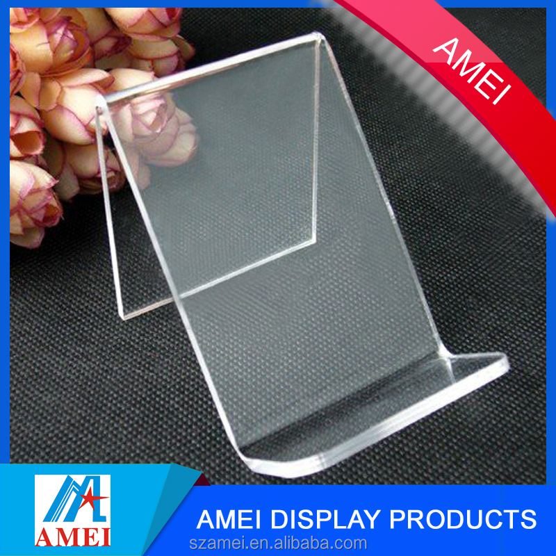 Wholesale Alibaba Supplier universal promotional acrylic desk phone accessory holder acrylic mobile phone holder