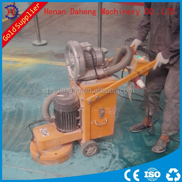 Epoxy floor paint remover machine