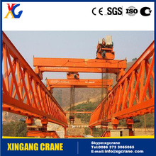 High Performance Truss Type Bridge Girder Launcher Crane for Highway/Railway Construction with Frame