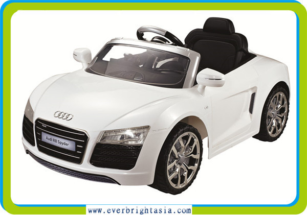 The newest Model Audi Licensed Ride On Ca.Audi R8 Kids Car.With Remote Control
