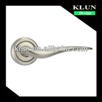 Zinc alloy swing door lock handle .fission lock series handle knob,for office room