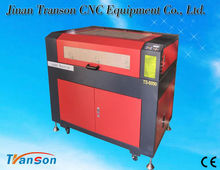 transon co2 glass laser carving machine price TS6090 laser engraver machinery for sale