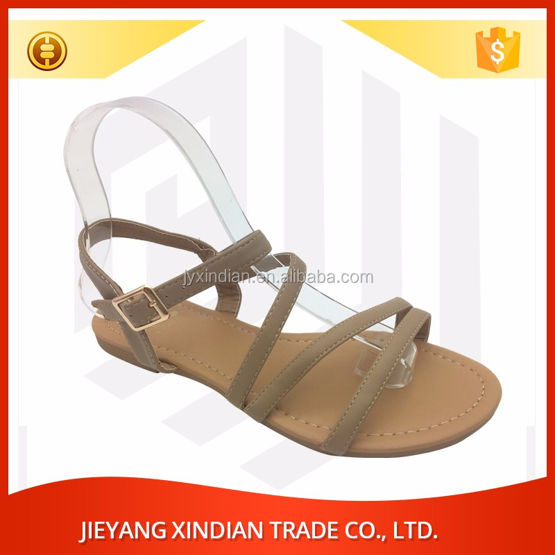 Women's Summer Flat Bohemia 2017 latest ladies sandals designs shoes