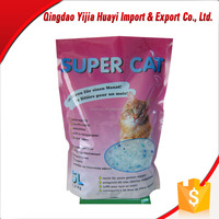 China Exporter Oem Fast Absorb Silica Gel Cat Litter