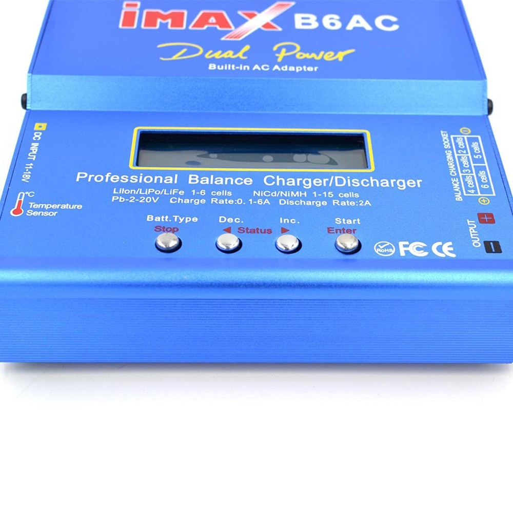 iMAX B6AC 80W Battery Balance Charger Discharger