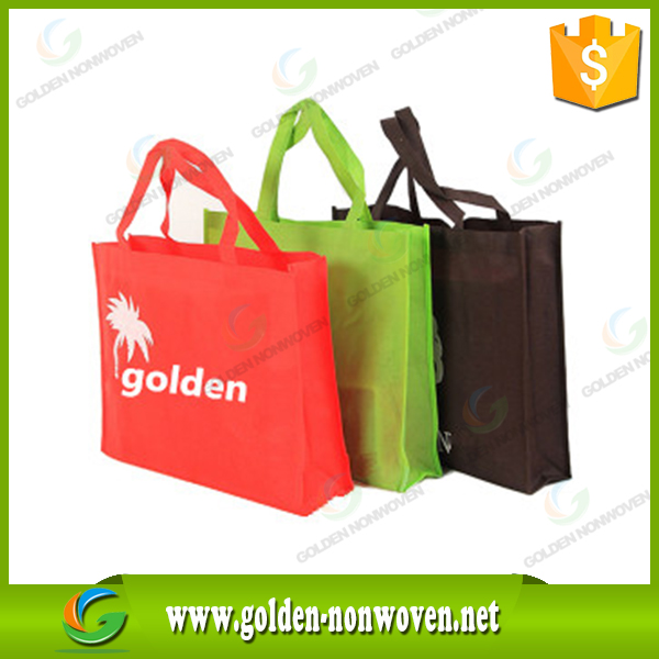 Different colour nonwoven fabric bag, custom pp non woven shopping bag, customer logo shopping tote bags