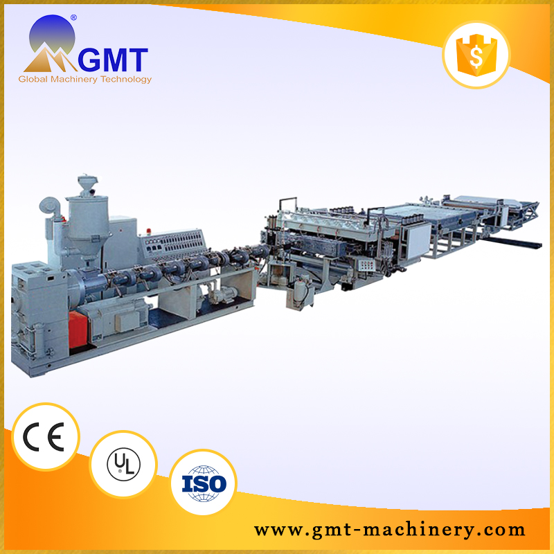 Dependable performance Without fire danger pvc sheet machine