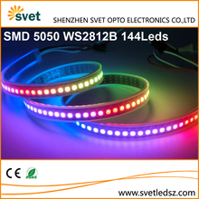 Digital Intelligent Wariable Color Wireless LED Strips 5V WS2812B 144Leds Pixel Controllable Led Strip