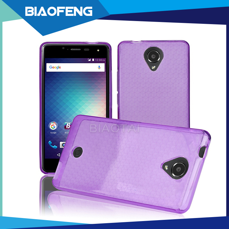 Wholesale lowest price durable ultra thin soft tpu phone case cover for blu r1 hd