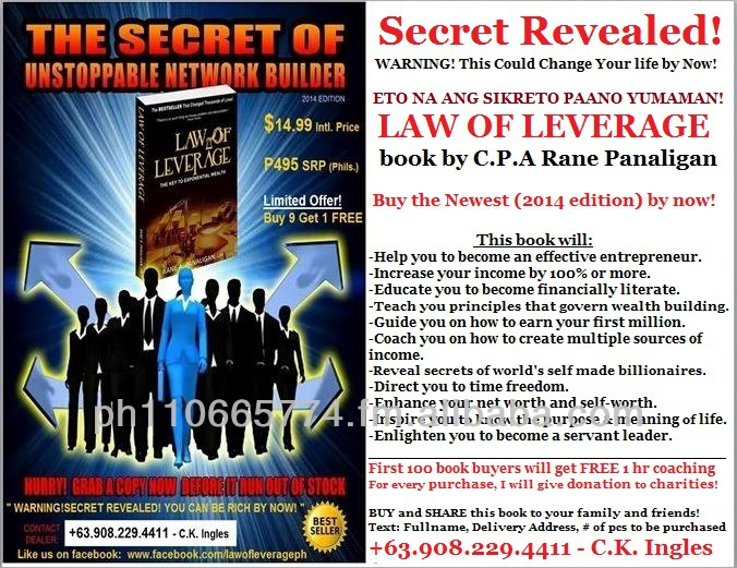 Law Of LEVERAGE book