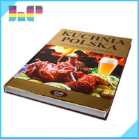 China Printing Hardcover Cook Book/ Full Color Easy Cook Recipes Book Printing