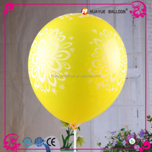 balloon manufacture flower printed decorate party balloons