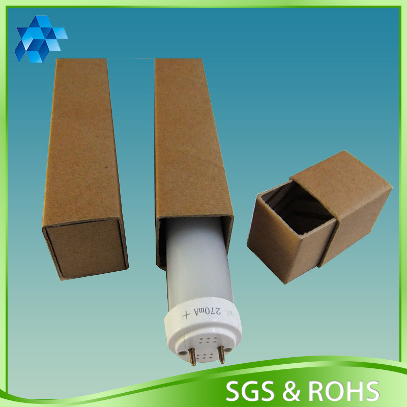 creative paper packaging product tube box with ECO material for LED lamp protection