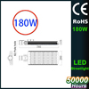 CE RoHS Listing factory lighting 180w street led light sale to Europe and the United States