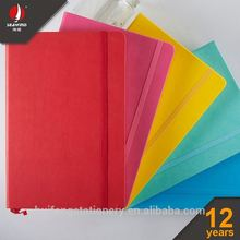 customized paper wholesale diary colorful ELASTIC NOTEBOOK