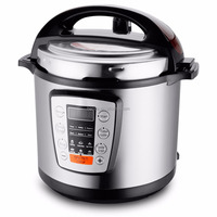 ETL Approval 6L Stainless steel digital multi electric pressure cooker - HDP-0602E