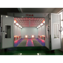 CE approved infrared heating auto spray tan booth/Removable car spray paint