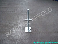 Hot sales electro plate or hot dip galvanized screw jack