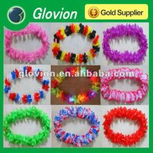 LED Decorative garland light Hawaii led flashing garland Colorful flashing Hawaiian Flower lei for decorate