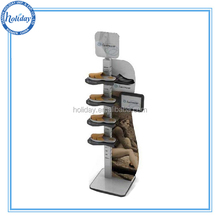 Corrugated Cardboard Boot Display Stand Cardboard Shoes Display Stand Racks for Exhibition Pallet Display for Boots