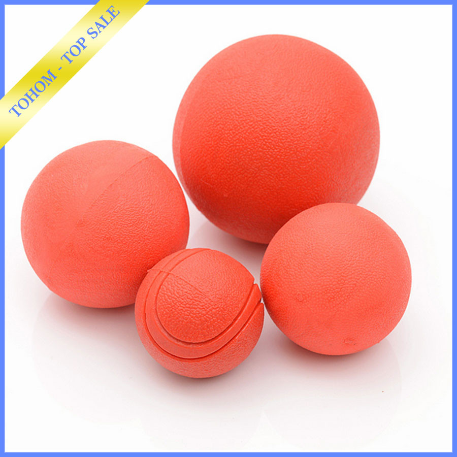 Pet toy high bouncing rubber Ball bouncy ball rubber cheap price clear bouncing ball