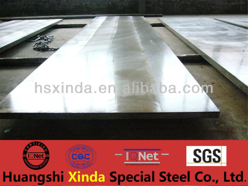 Corrosion resistance to high temperature Tool steel flat 1.2379
