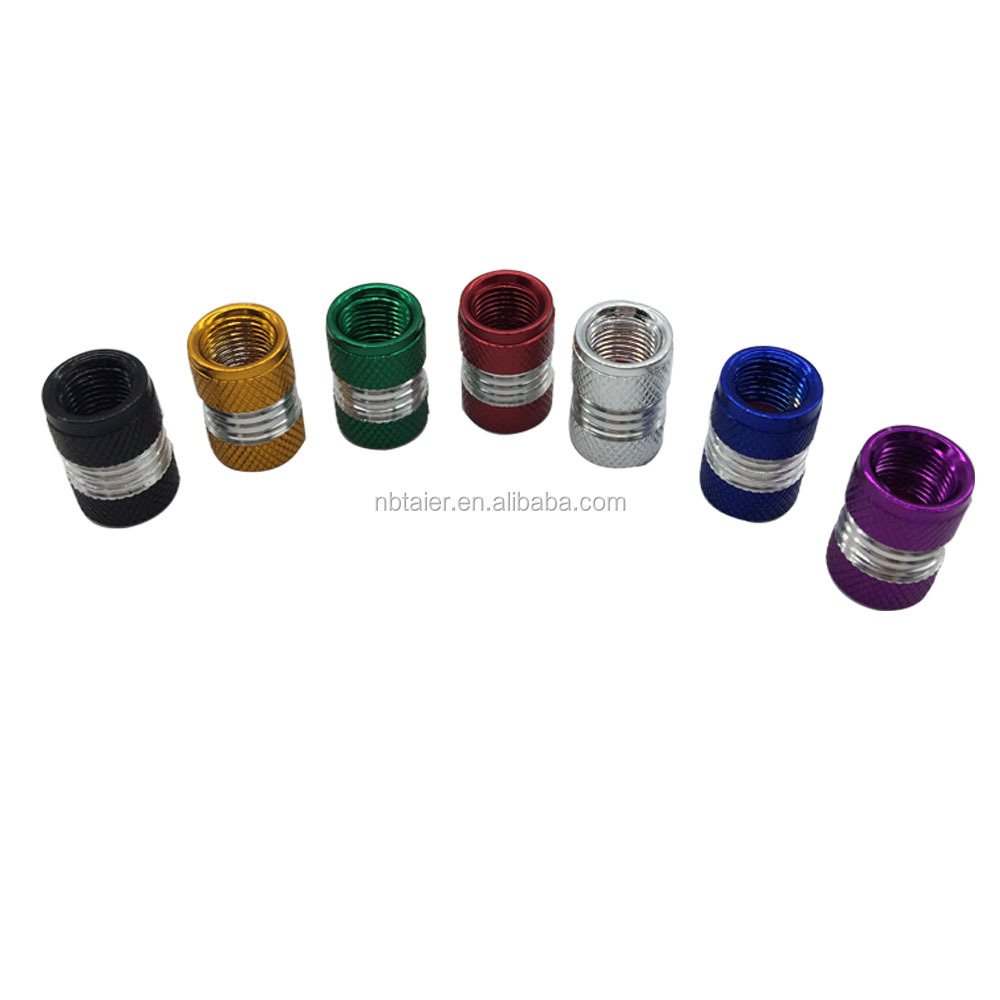 Multi Color Tire Valve Stem Cap Car Spare Auto Parts