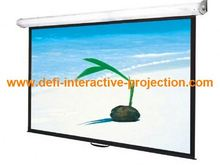 Electric motorized projector screen 16:9 4:3