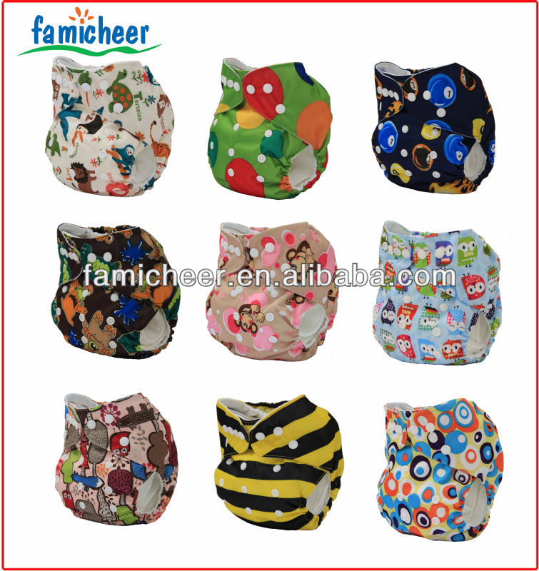 Famicheer high absorbency washable cloth diaper