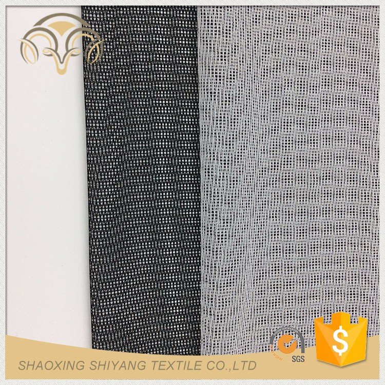 3D Embroidered Customized geo mesh fabric