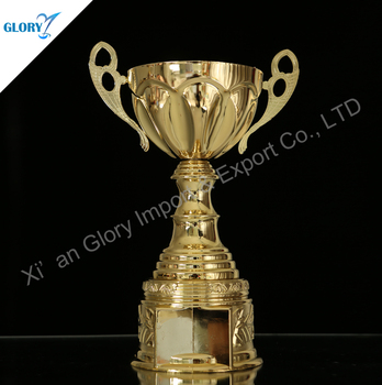 Wholesale High Quality Metal Trophy Cup Of Bowl For Match