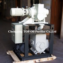 Transformer oil dry cleaning machine vacuum pumping system