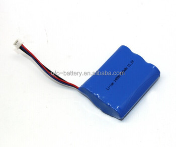 Li-ion Battery Pack 14500 3S 11.1V 800mAh Cylindrical Li ion Battery Pack For Wireless Alarm System