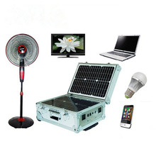 Portable solar power system outdoor solar generator for camping