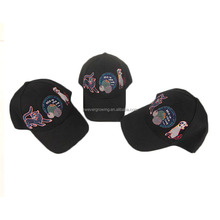 Good quality new design 6 panel baseball cap for sale wholesale custom men short brim hat