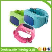 Fashion kids/elderly real-time tracking device kid's gps watch
