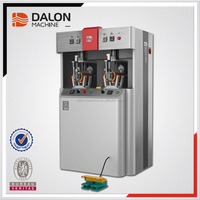 Dalong F7 Shoes automatic hot melt adhesive upper setting moulding machine shoe making machinery