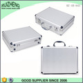 Bling silver aluminum briefcase carrying laptop case