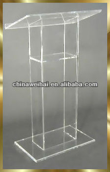 clear acrylic modern church pulpit