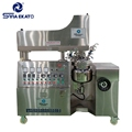 High Quality Cream, Ointment , Shampoo Vacuum Emulsifying Mixer Factory Cosmetic Homogenizer Mixer Price