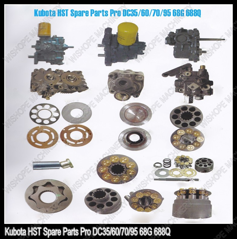 Agricultural equipment of kubota spare parts