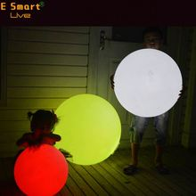 South America hot sale floating waterproof led light ball for show room