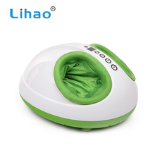 LIHAO March Expo 3D Wave Vibrating Infrared Heating Foot Massager Machine