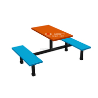 Cheap School Dining Table and Chair Set