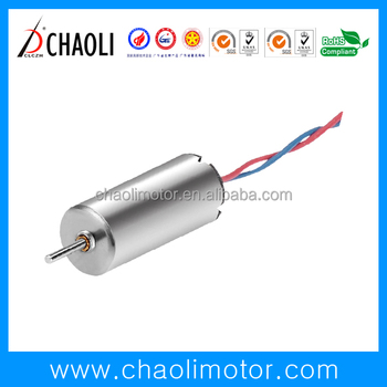 Small sizedc coreless motor cl-0614 for electric toy and vibrator