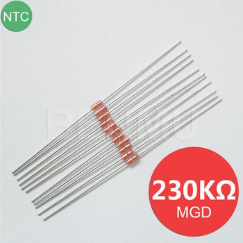20pcs NTC Thermistor 230K ohm 1/% B4130 Diode Type Glass Encapsulated Thermistor