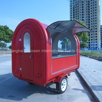 HOT Combination Mobile Breakfast & Donut Food Service Trailer Cart with Different Use ZS-FT250 B