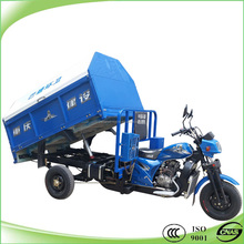 best quality 200cc water cooled garbage tricycle for sale
