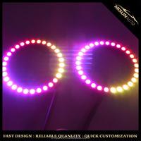 Innovative designing 160mm Spyder 1998-2002 Chevy Camaro Onxy color changing headlight kits